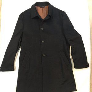 Joseph A. Bank Tailored Fit Topcoat Size 40R
